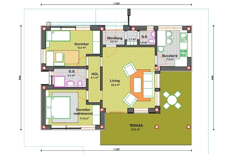Proiect casa lidy casemania for Proiecte case parter