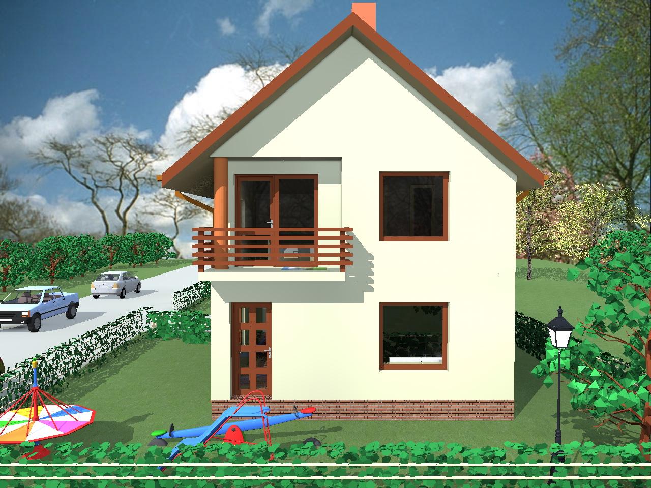 Proiect casa etaj casa sonia casemania for Youtube case cu mansarda