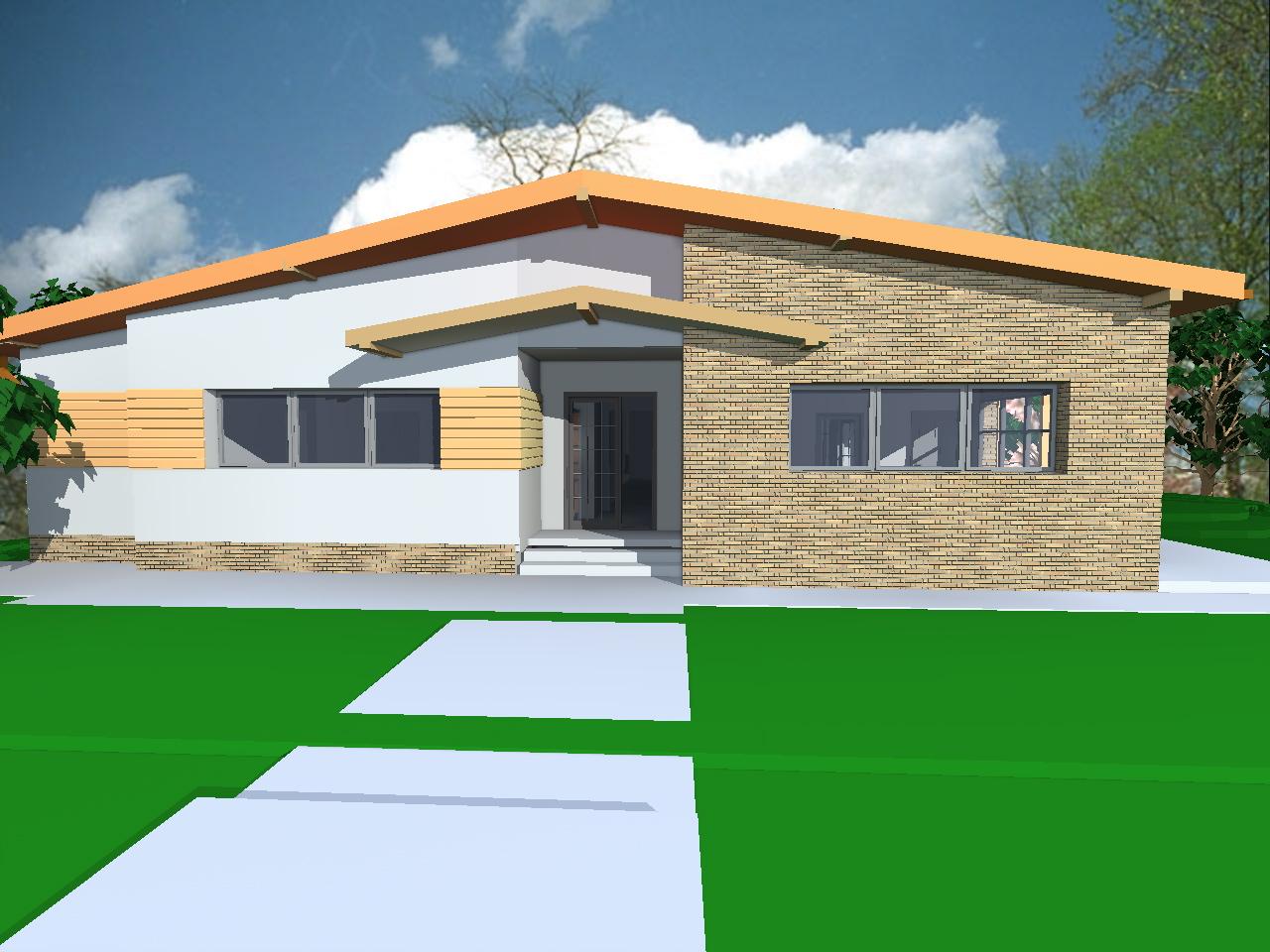 Proiect casa parter casa miruna casemania for Case parter